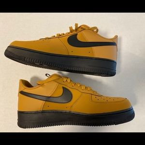Nike Air Force One Low (Wheat/Black)